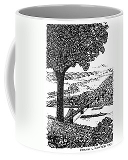 Portsmouth Ohio From A Kentucky Hill Coffee Mug