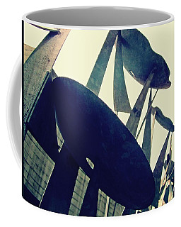 Post Alley Poppies Coffee Mug by Leanna Lomanski