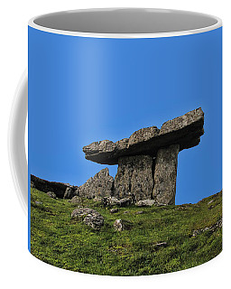 Coffee Mug featuring the photograph Poulnabrone Dolmen by David Gleeson