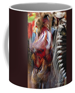 Coffee Mug featuring the photograph Pow Wow Dancer by Vivian Christopher