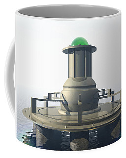 Coffee Mug featuring the digital art Power Platform by Phil Perkins