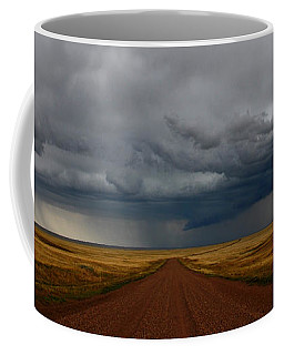 Prairie Storm In Canada Coffee Mug