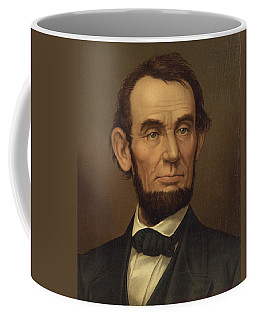 Coffee Mug featuring the photograph President Of The United States Of America - Abraham Lincoln  by International  Images