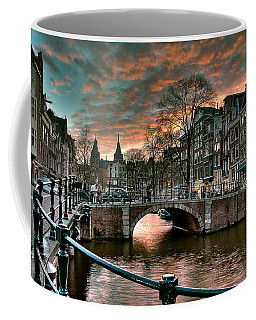 Prinsengracht And Reguliersgracht. Amsterdam Coffee Mug