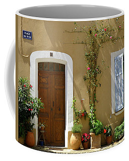 Coffee Mug featuring the photograph Provence Door 3 by Lainie Wrightson