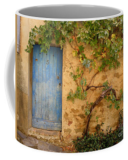 Coffee Mug featuring the photograph Provence Door 5 by Lainie Wrightson
