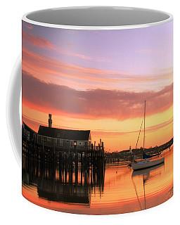 Provincetown Harbor Before Sunrise Coffee Mug
