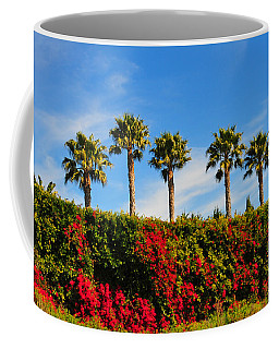 Pt. Dume Palms Coffee Mug
