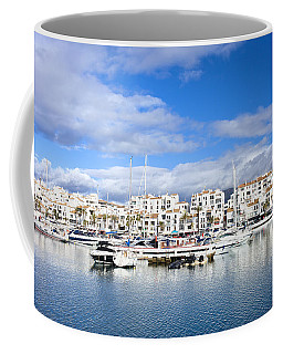Puerto Banus Marina On Costa Del Sol Coffee Mug