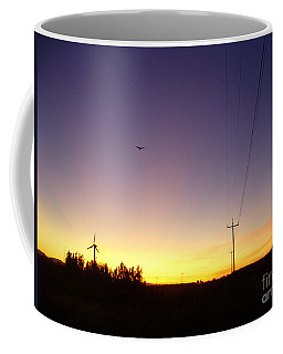 Purple Evening On The Island Coffee Mug