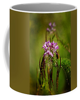 Coffee Mug featuring the photograph Purple Pizzazz by Vicki Pelham