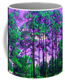 Coffee Mug featuring the photograph Purple Sky by George Pedro