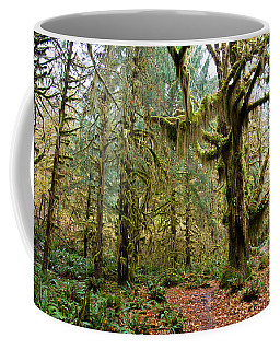 Rain Forest In Fall Coffee Mug