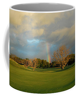 Rainbow Over Princeville Coffee Mug by Lynn Bauer
