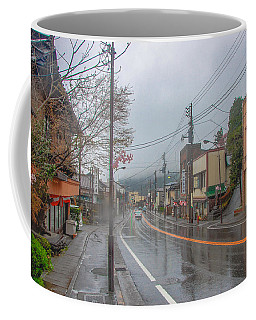 Rainy Day Nikko Coffee Mug by Jonah  Anderson