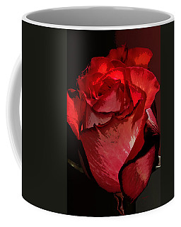 Rare Red Rose Coffee Mug