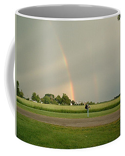 Coffee Mug featuring the photograph Ray Bow by Bonfire Photography