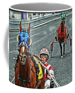 Coffee Mug featuring the photograph Ready To Race by Alice Gipson