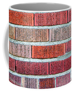 Red Brick Wall Coffee Mug