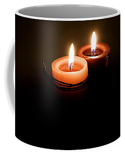 Red Candles Coffee Mug