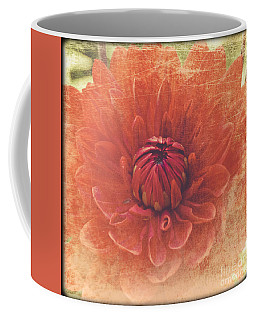 Coffee Mug featuring the photograph Red Dahlia by Alana Ranney