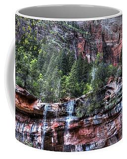 Red Falls Coffee Mug