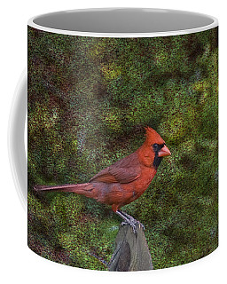 Red On The Fence Coffee Mug