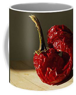Coffee Mug featuring the photograph Red Pepper by Joe Schofield