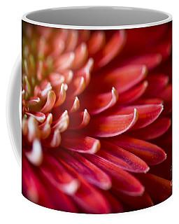 Red Petals Abstract 1 Coffee Mug