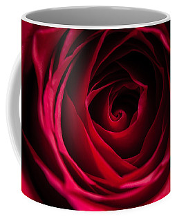 Coffee Mug featuring the photograph Red Rose by Matt Malloy