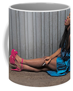Coffee Mug featuring the photograph Red Stilettos by Alice Gipson