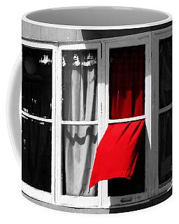 Red Wave Coffee Mug