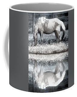 Coffee Mug featuring the digital art Reflecting Dreams by Mary Almond