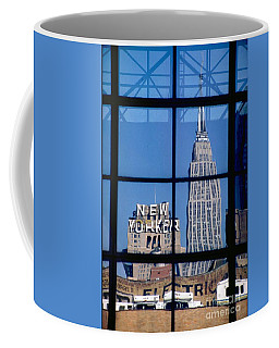 Reflection Empire State Building Coffee Mug