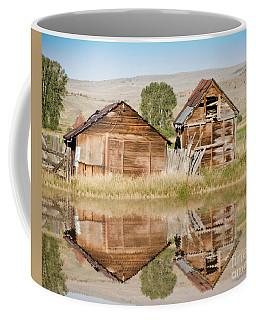 Reflection Of An Old Building Coffee Mug
