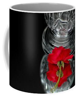 Reflections Of A Rose Coffee Mug