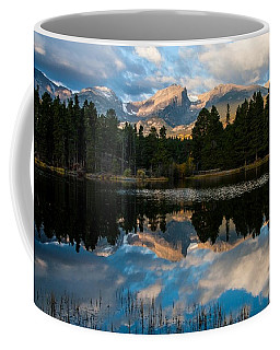 Reflections On A Lake Coffee Mug by Anne Rodkin