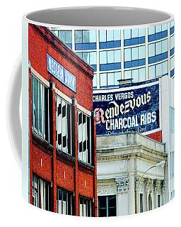 Coffee Mug featuring the photograph Rendezvous by Lizi Beard-Ward