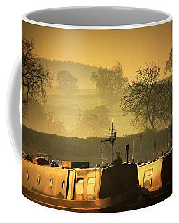 Resting Narrowboats Coffee Mug