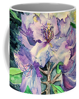 Rhododendron Coffee Mug by Mindy Newman