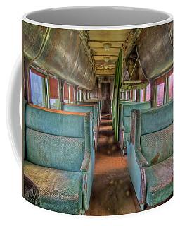 Riding In Coach Coffee Mug
