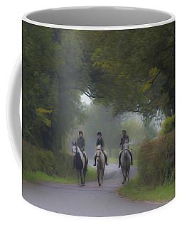 Riding In Tandem Coffee Mug