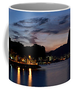 Rio Skyline From Urca Coffee Mug