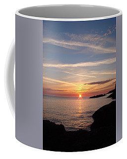 Coffee Mug featuring the photograph Rising Sun by Bonfire Photography
