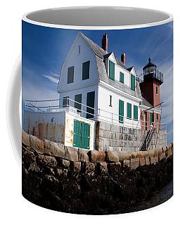 Rockland Breakwater Lighthouse Coffee Mug