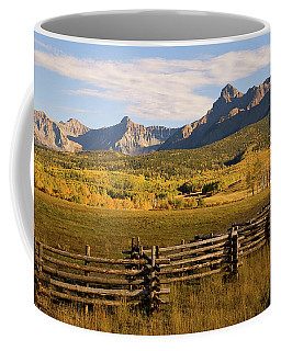 Rocky Mountain Ranch Coffee Mug by Steve Stuller