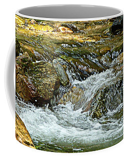 Coffee Mug featuring the photograph Rocky River by Lydia Holly