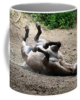 Rollin In The Dirt Coffee Mug by Elizabeth Winter