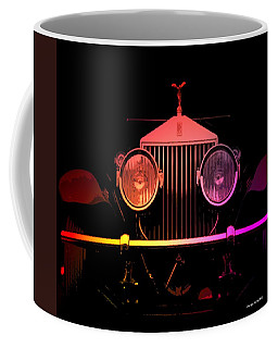 Coffee Mug featuring the photograph Rolls Royce Smile by George Pedro