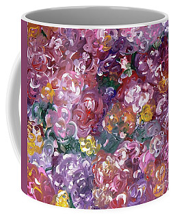 Coffee Mug featuring the painting Rose Festival by Alys Caviness-Gober